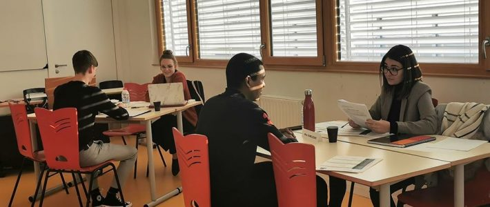 Simulations d'entretien avec les étudiants du DUT Génie Thermique et Energie de l'Université d'Orléans